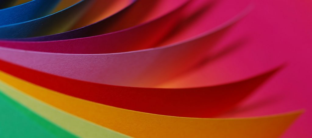 Colourful Paper Types